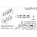 OCC 6112SMDST ST Adapter Plates - SingleMode