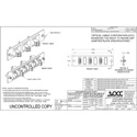OCC 616DLC LC Adapter Plates - MultiMode/SingleMode