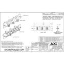 OCC 616DLC50G 50G LC Adapter Plates - MultiMode