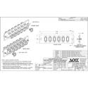 OCC 616SMSC SC Adapter Plates - SingleMode