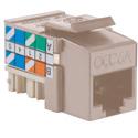 OCC K6A00 Cat 6A Modular Jack - Unshielded
