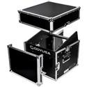 Odyssey FR1006 Combo Rack: 10U Top Slant Rack - 6U Bottom Vertical Rack