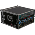 Odyssey FRAR6E 6-Space Econo Amp Rack Case