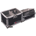 Odyssey FZMIC12 Microphone Case - Holds 12 Mics & Included Storage Compartment