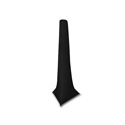 Scrim Werks 15FT High Crank Stand Slip Screen - Black