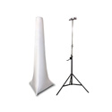 Photo of  Scrim Werks 15FT High Crank Stand Slip Screen - White