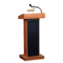 Oklahoma Sound 40 Watt Floor Lectern Medium Oak
