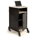 Oklahoma Sound PRC400 Jumbo Presentation Cart with laptop shelf
