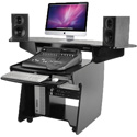 OmniRax CODA-MELA Mixing / Digital Editing Workstation Desk - Melamine