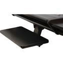 OmniRax Black Keyboard Shelf for the Nova Desk-Black