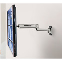 OmniMount PLAY25X Interactive Full-Motion TV Arm Mount - Polished Aluminum