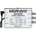 Ocean Matrix OMX-3G-CC 3G SDI-HDMI Multiformat Cross Converter