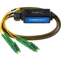 Camplex OPADAP-11 opticalCON QUAD APC to Four (4) LC/APC Breakout Adapter - Singlemode