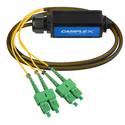 Camplex OPADAP-12 opticalCON QUAD APC to Four (4) SC/APC Breakout Adapter - Singlemode