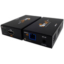 Ophit FTHS 1 Channel HDMI 2.0 Fiber Optic Extender - up to 200 Meters (656 Feet) - Transmitter / Receiver