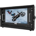 Osprey Video RM12G-1 6RU 12G-SDI / HDMI2.0 4K 15.6 Inch IPS Rackmount Monitor with 3840x2160 Native Resolution