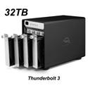 OWC OWCTB3SRT32.0S 32.0TB ThunderBay 4 Four-Drive HDD with Dual Thunderbolt 3 Ports RAID-5 Preconfigured Solution