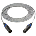 Sescom P/DMX-25 DMX Lighting Control Cable Plenum 5-Pin XLR Male to 5-Pin XLR Female - 25 Foot