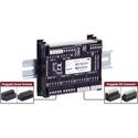 Pathway Connectivity PWREP DIN P4 NONRDM DMX Repeater with DIN-mount 4-Ports - DMX Only
