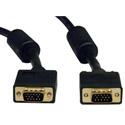 Tripp-Lite P502-050 SVGA Monitor Cable w RGB Coax HD15M/M - 50 Ft.