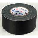 Permacel Shurtape P-665 Black Cloth Tape - 3-Inch x 60 Yards - Black