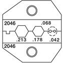 Paladin PA2046 VDV Crimper Die Set for RG58/RG174 50 & 75 Ohm Connectors