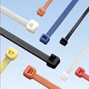 Panduit PLT2S-C10 7.4 Inch Weather Resistant Nylon 6.6 Cable Ties - Black - 100 / Pack