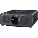 Panasonic PT-RZ120LBU WUXGA Resolution 12600 Lumens Laser 1-Chip DLP Projector - No Lens - Black
