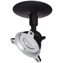 Panavise 120140B Black Short Drop Ceiling Speaker Mount 40lb.