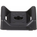 Panduit ABMT-A-C20 Hook & Look Cable Tie Mount Nylon Black Adhesive - 100 Pack