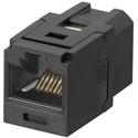 Panduit CC688BL Cat6 RJ45 8 Position 8 Wire Universal Coupler Module - Black