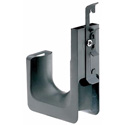 Panduit JP75DW-L20 J-Pro Cable Support System Drop Wire and Threaded Rod Clip - Black