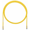 Panduit UTP6A25YL Cat 6A Patch Cord UTP - Yellow - 25 Foot