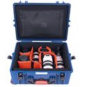 PortaBrace PB-2650DK Divider Kit Hard Combination Case (With Wheels)