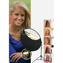 Photo Basics 304 Kit by Westcott 40 Inch-5-in-1 Reflector Kit with arm and Stand