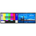 Plura PBM-224-4K-DUAL Dual Integrated 24inch 4K Monitors - Customized Monitoring Solution (4096 x 2160)