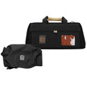 Portabrace CS-DV3RQS-M2 Camera Case Soft with Quick-Slick Rain Protection Included - Black - Large