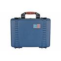Portabrace PB-2500E Empty Airtight Hard Case - Medium - Blue
