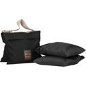 Portabrace SAN-2BX3 Sand Bag - Empty Set of 3 - Black - 15-pounds