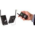 DSan PC-433-MINI-AS4GRN PerfectCue Mini with 4-Button Transmitter and Green Laser Pointer