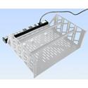 Middle Atlantic PD-815SC-PBSH Shelf Mount 8 Outlet 15 Amp Power Strip