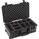 Photo of Pelican 1535TP Air Carry-On Air Case with TrekPak Divider System - Black