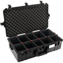 Pelican 1605TP Air Case with TrekPak Divider System - Black