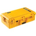 Pelican 1605NF Air Case with No Foam - Yellow