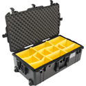 Pelican 1615AirWD - Wheeled Check-In Case with Dividers - Black