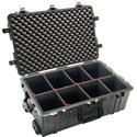 Pelican 1650TP Protector Case with TrekPak Divider System - Black