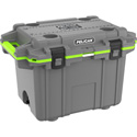 Pelican 50QT Elite Cooler - Dark Grey/Green