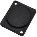 Penn-Elcom M1906 Blanking Plate Flush Screw Fit - Black - Plastic - 10 Pack