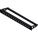 Penn Elcom R2280-1U-24 1RU Rack Panel Punched for 24 BNC Connectors Cable Support Bar