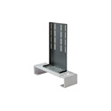 Peerless-AV ACC931 DVD Mount to Flat Panel Mount PLP Adapter Plate Black